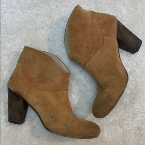 Jeffrey Campbell Free People Brown Suede Boot 37 7